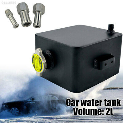 6391 Eco-Friendly Auxiliary Tank Car Water Tank Polished with Cap Black