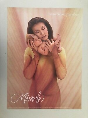 Celine Dion,'miracle',photo By Anne Geddes, Authentic Licensed 2004 Poster