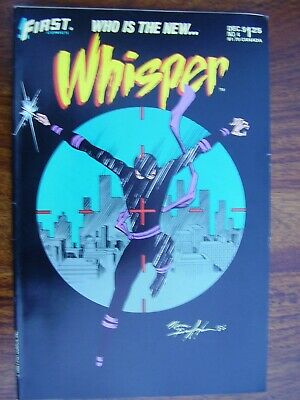 First Comics Whisper No 04 December 1986 The Ice Age Dislocation