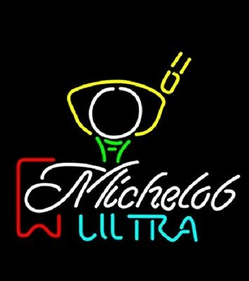 """New Michelob Ultra Beer Bar Neon Light Sign 20/""""x16/"""" Fast Ship"""