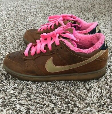 best website 3b50f 95928 NIKE DUNK LOW Premium SB Leather Gibson Guitar Case 313170-271 Men's Size 10