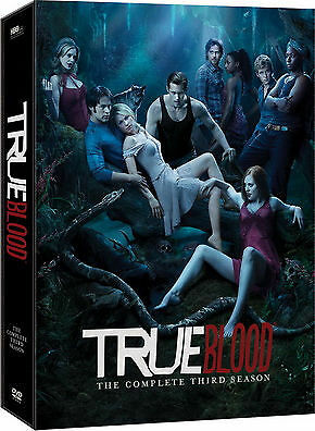 True Blood: The Complete Third Season DVD  BRAND NEW SEALED FREEPOST