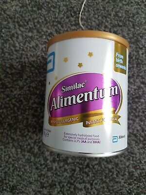 Similac Alimentum Hypoallergenic Infant Formula - Suitable from Birth - 400g