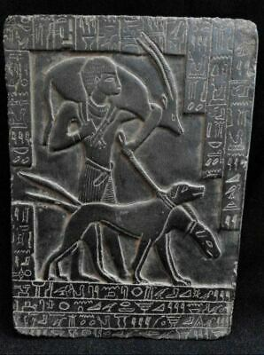 Egyptian Antiques Antiquities Young Ramses II Hunting Stela Relief 1280-1214 Bc