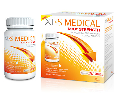 Xls Medical Max Strenght Strength 120 Compresse Integratore