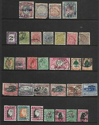 Sheet of Early South-West/South Africa Stamps