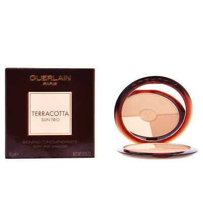 Maquillaje Guerlain mujer TERRACOTTA SUN TRIO powder #bronz light 10 gr
