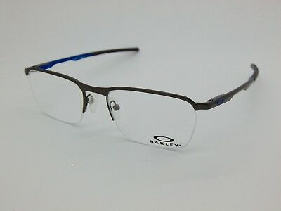 535d065c05d NEW Authentic OAKLEY Conductor 0.5 OX3187-0551 Pewter Cobalt 51mm Rx  Eyeglasses
