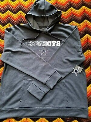 Dallas Cowboys Authentic Product Charcoal Aristo Pullover Hoodie Men s 2XL  NWT fc3aedd78