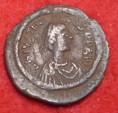 Fantastic Justinian 1st Ae21 Coin