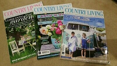 Country Living & Country Homes Magazine Bundle