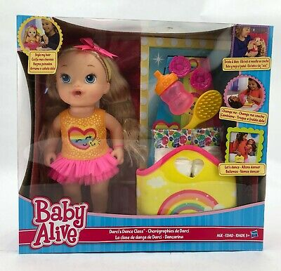 Baby Alive Doll | Darci's Dance Class | Dancing Baby | Changing Mat