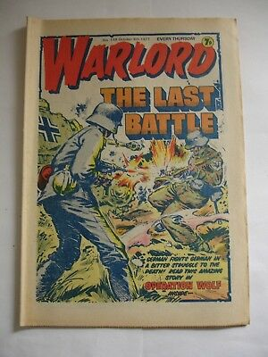 WARLORD comic No 159 October 8th 1977
