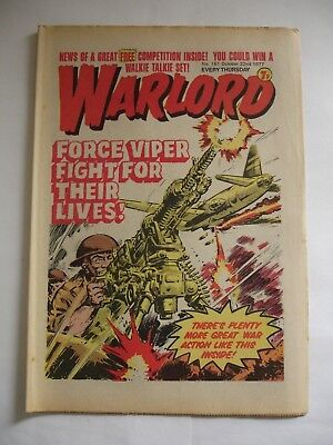 WARLORD comic No 161 October 22nd 1977