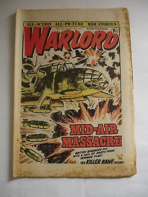 WARLORD comic No 153 August 27th 1977