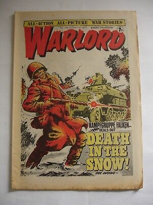 WARLORD comic No 158 October 1st 1977