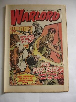 WARLORD comic No 163 November 5th 1977