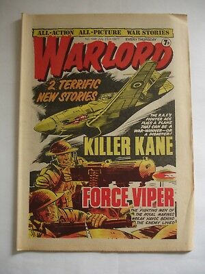WARLORD comic No 148 July 23rd 1977
