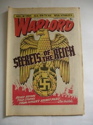 WARLORD comic No 145 July 2nd 1977