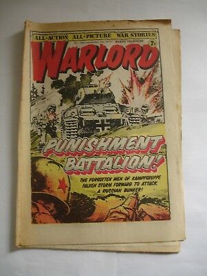 WARLORD comic No 154 September 3rd 1977