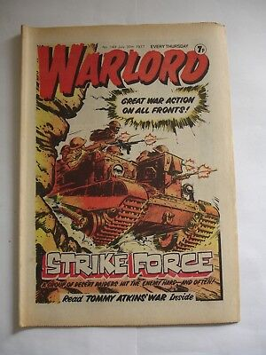 WARLORD comic No 149 July 30th 1977
