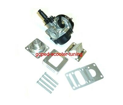 Pocketbike Tuning Vergaser + Rennmembran Minimoto Performance Carburetor 010515
