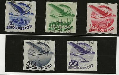 Russia Sc# C40-4 Used Stamps