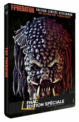 The Predator - Blu Ray 4k Ultra HD - Edition Steelbook Fnac - Neuf sous Blister