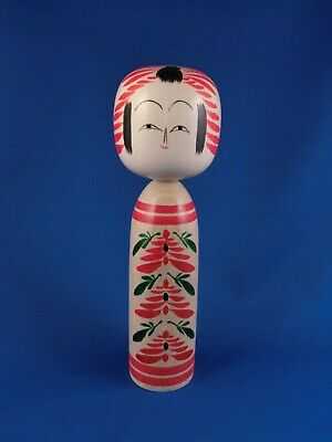 Kokeshi - traditionelle Holz-Puppe aus Japan - Togatta style - ca. 18 cm