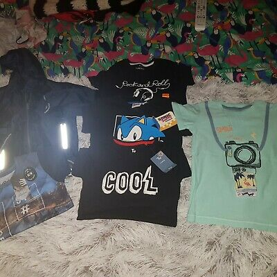 All Bnwt Boys Bundle Of Clothes Age 3-4 Years. Jacket And Tops