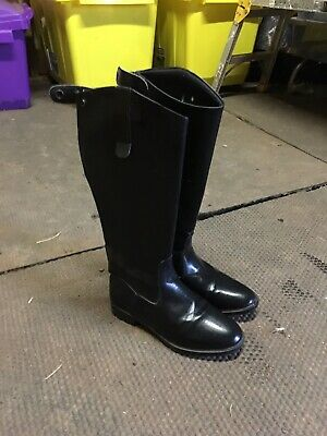 Essential Faux Leather Long Riding Boots