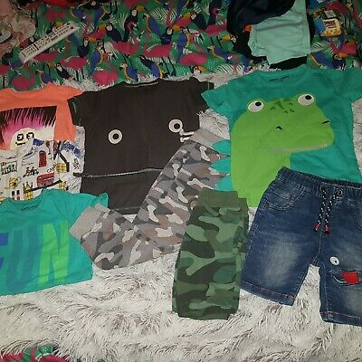 100% Boys Next Bundle Of Clothes Age 3-4 Years. Tops Shorts Joggers