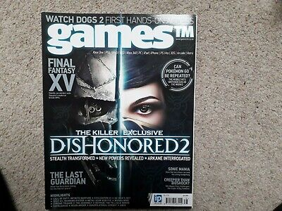 Games TM 178 Dishonored 2 The Last Guardian Sonic Civilization 6