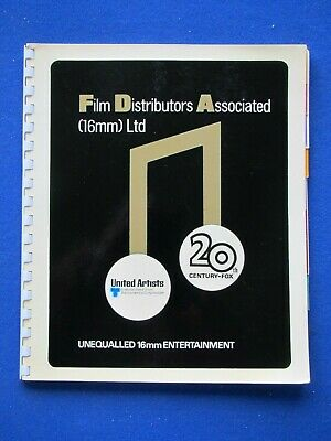 Film Distributors Associated - 16mm Sound Films Catalogue 1970