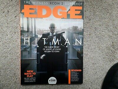EDGE 288 Hitman Fallout 4 Just Cause 3 Xenoblade Chronicles X