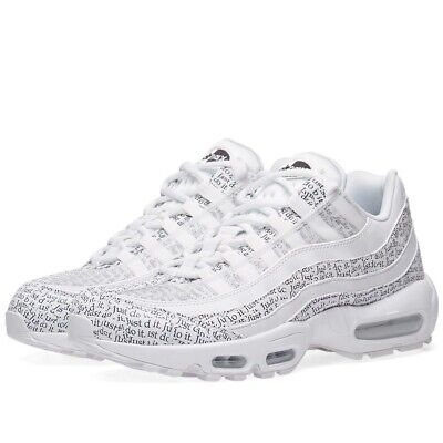 a9216012a3 NIKE AIR MAX 95 SE 'Just Do It' Mens Trainers Uk Size 10 45 AV6246 ...