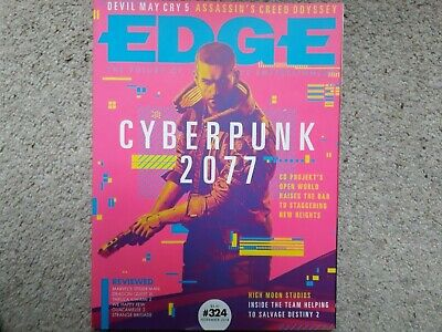EDGE 324 Cyberpunk 2077 Devil May Cry 5 Assassin's Creed Odyssey