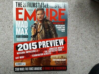 Empire February 2015 Mad Max Fury Road Spectre Jurassic World Mission Impossible
