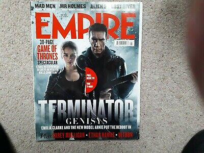 Empire May 2015 Terminator Genisys Alien Mr Holmes