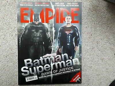 Empire September 2015 Batman v Superman Bridge of Spies Creed Star Wars