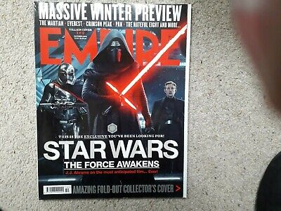 Empire October 2015 Star Wars The Martian THe Hateful Eight