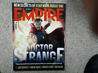 Empire November 2016 Dr Strange Star Wars Rogue One Jack Reacher Gene Wilder