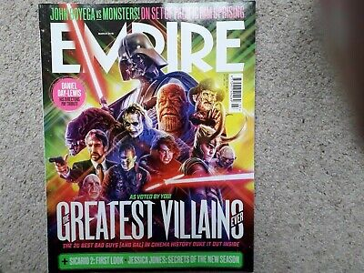 Empire March 2018 Greatest Villians Sicario 2 Pacific Rim Uprising