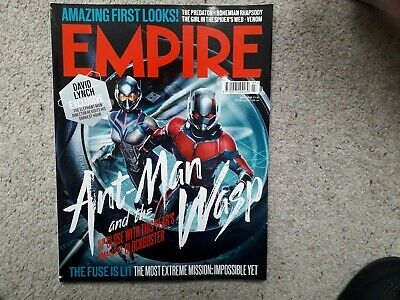 Empire July 2018 Ant-Man and the Wasp The Predator Bohemian Rhapsody