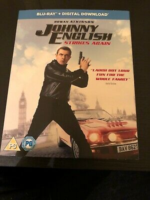 Johnny English Strikes Again | Blu-ray | Brand New & Sealed