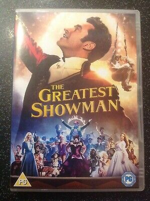 The Greatest Showman (DVD, 2017) Joyously Uplifting & Toe-Tappingly Memorable
