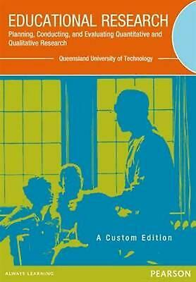 Educational Research by Creswell Paperback Book Free Shipping!