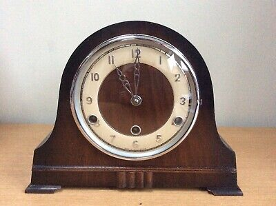Antique Perivale Westminster Chimes Mantle Clock