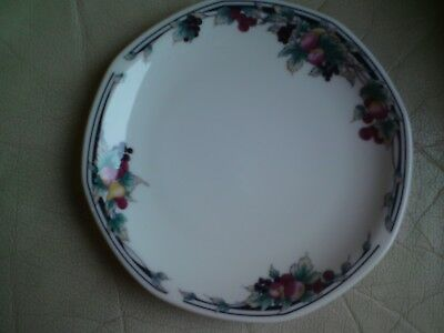 ROYAL DOULTON AUTUMN'S GLORY SIDE PLATES x 2  -  16 CMS NEW/BOXED,