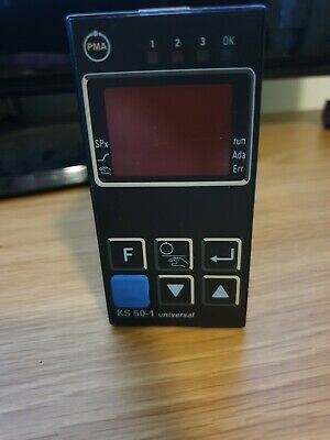 P.M.A KS50 PID Temperature Controller, 96 x 48 (1/8 DIN)mm, 2 Output Relay